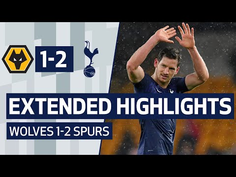 EXTENDED HIGHLIGHTS   Wolves 1-2 Spurs