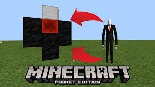 How To Make a Slenderman Spawner in Minecraft Pocket Edition