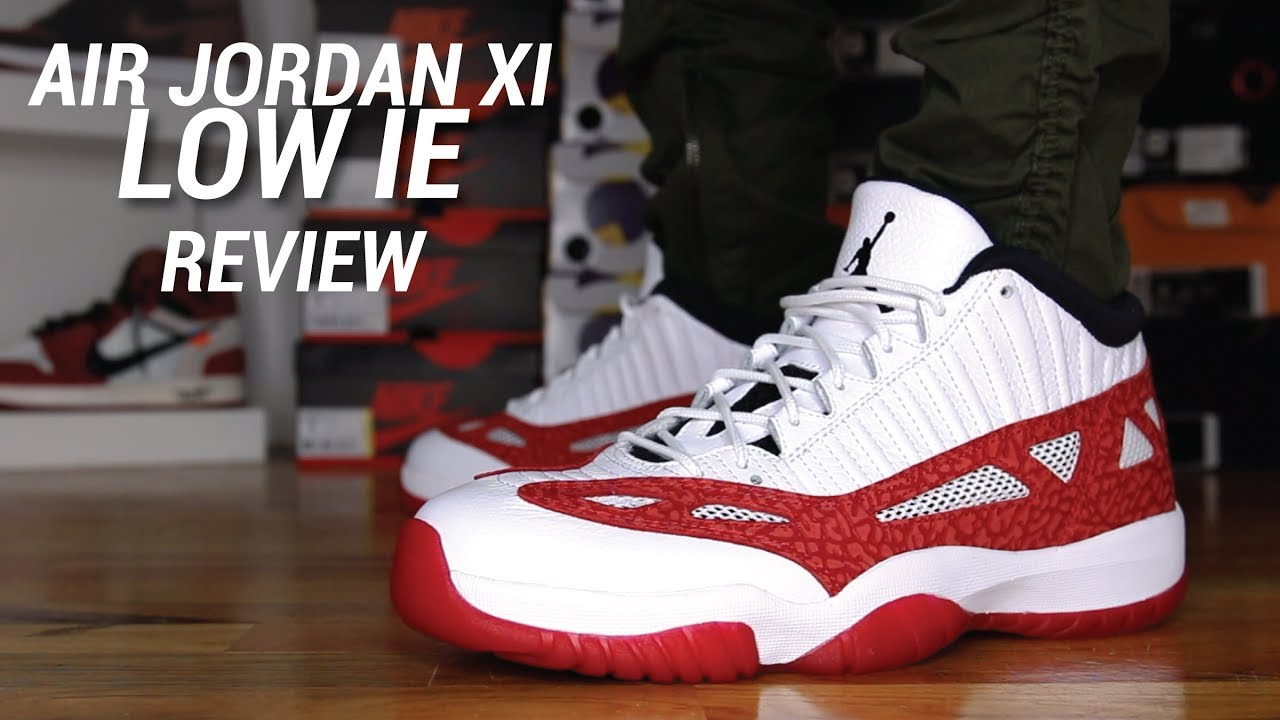 air jordan retro 11 low ie means what in english