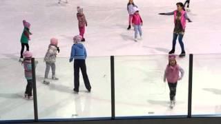 Уроки фигурного катания Элина Ким 20.04.16