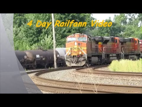 4 Day Train Vacation Northern Ohio Part 1
