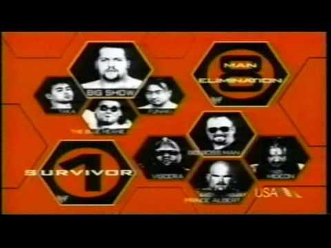 wwf survivor series 1999 matchcard youtube