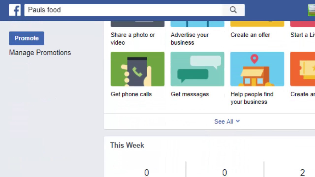 How to add website link on facebook page