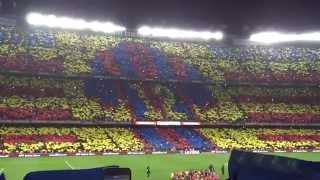 【FCバルセロナ観戦】2015年3月エル・クラシコ  [El Clasico at Camp Nou (March 2015)] イニエスタ出場