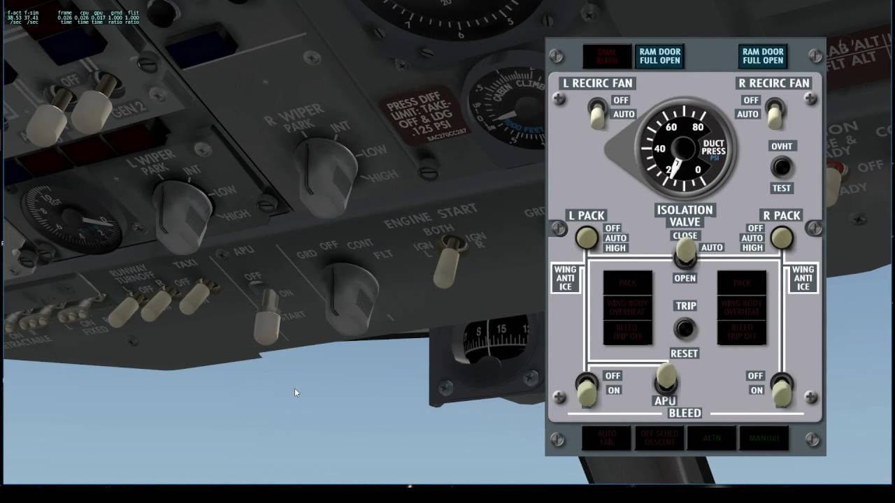 Air Manager x737 Project by Russ Barlow