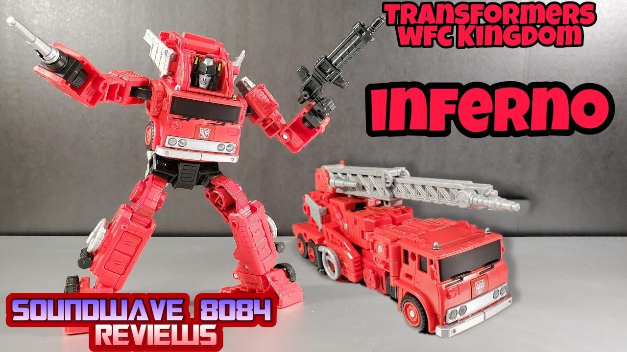 Transformers WFC Kingdom Inferno Review by Soundwave 8084