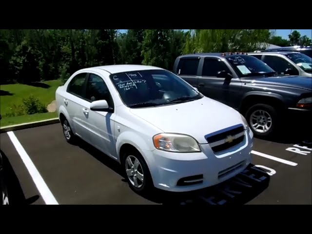 2007 Chevrolet Aveo Ls Sedan Start Up And Full Tour Youtube