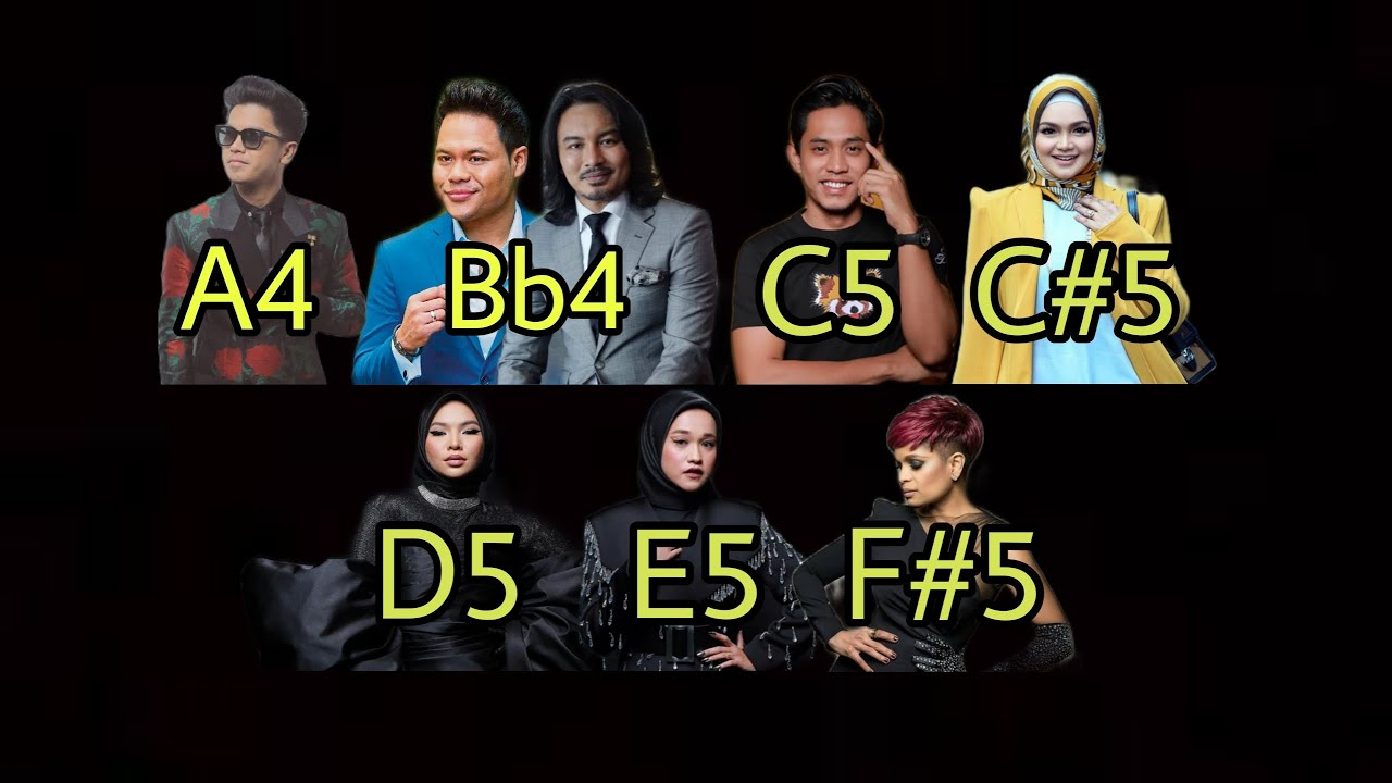 Malaysian Singers Golden Notes