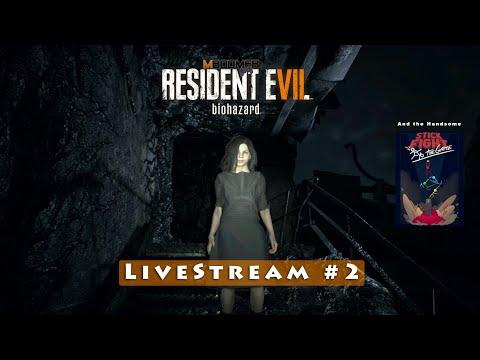 Resident Evil 7   LiveStream #2   E Stick Fight: the game Portugues [Ps4 1080p]