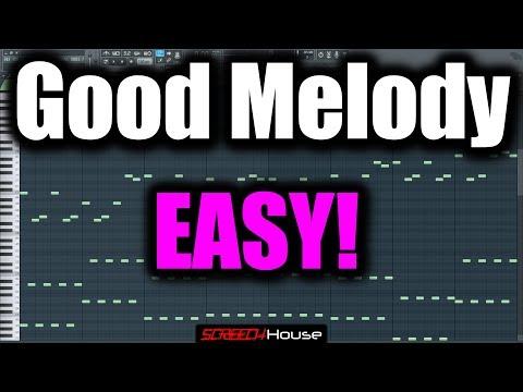 MELODY TUTORIAL FL STUDIO | How to Make a Good Melody | Hardstyle Melody FL Studio Trance Melody