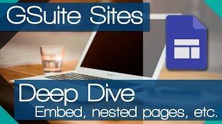 NEW Google Sites - More options (Deep Dive)