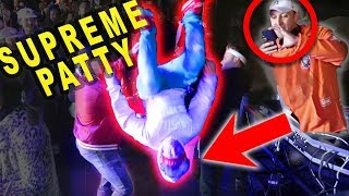 BACKFLIP CHALLENGE WITH SUPREME PATTY!