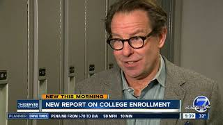 New report on college enrollment
