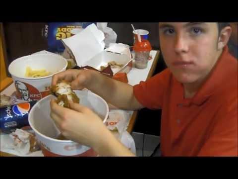 WELCOME TO BEAST-KFC Bargain Bucket Challenge