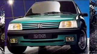 Peugeot 205 History 1983-1998