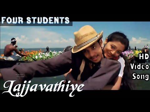 Lajjavathiye   4 Students HD Video Song + HD Audio   Bharath,Gopika    Jassie Gift