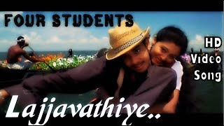 Lajjavathiye | 4 Students HD Video Song + HD Audio | Bharath,Gopika |  Jassie Gift