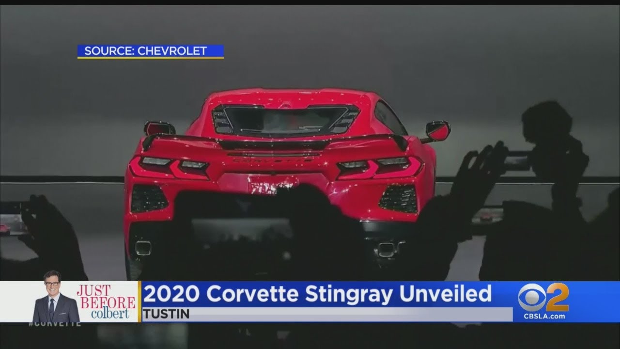 Chevrolet Unveils Dramatic New Look For Iconic Corvette
