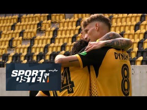 Dynamo Dresden schafft Aufstieg - Tore vom 4:0 gegen Türkgücü (16.05.2021)   Sport im Osten   MDR
