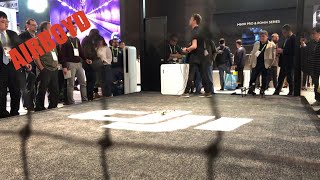 DJI Mavic Air Paltinum Flight Demonstration CES 2018