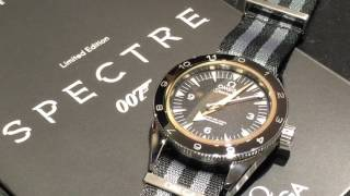 OMEGA SEAMASTER 300 LIMITED EDITION   SPECTRE JAMES BOND