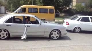 Свадебный кортеж в Дагестане