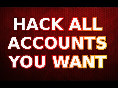 HACK ALL ACCOUNTS YOU WANT ! MAKE MONEY - 2017