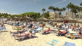 Sa Coma Beach Strand [1080p HD]  Mallorca Spanien  21.09.2011   TV.NEWS-on-Tour.de