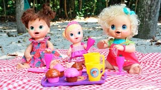 Baby Alive Piquenique - PICNIC com BIA LOBO