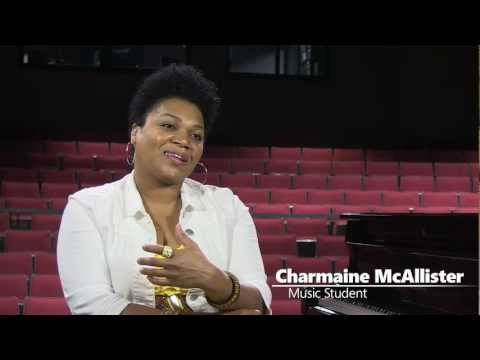 Music student Charmaine McAllister on being at Elgin Community College