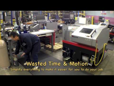 LEAN MANUFACTURING -  WASTED TIME & MOTION