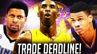 NBA2K16 Lakers MyGM Ep. 14 - TRADE DEADLINE TRADES!!