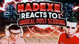 NaDeXe reaction to unreal post scoring