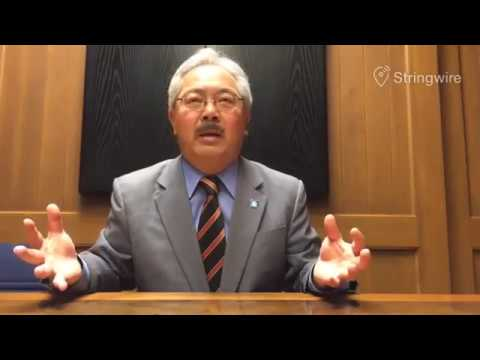 Ed Lee speaking at the San Francisco Chronicle | Local Politics