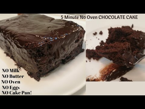 5-minute-chocolate-cake-recipe-|[no-oven,-no-butter,-no-eggs,-no-milk]-|-efe's-cappuccino