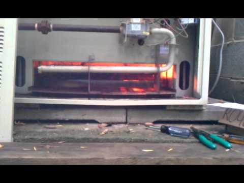 Pool Heater Roll Out Youtube