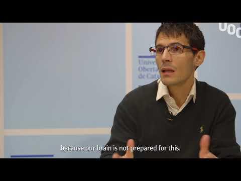 UOC R&I Talk with Diego Redolar, neuroscience researcher