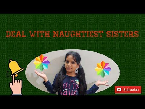 Deal With Naughtiest Sisters | SHORT FILM | - Fun With Pragya - |