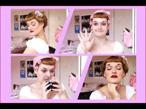 (very) Chatty GRWM! | Summer 1950s Makeup, Brushout & Outfit + Rambly Life Musings