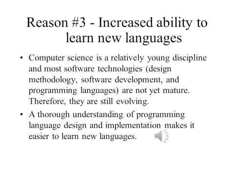 Principles of Programming Languages Lecture1 Part1