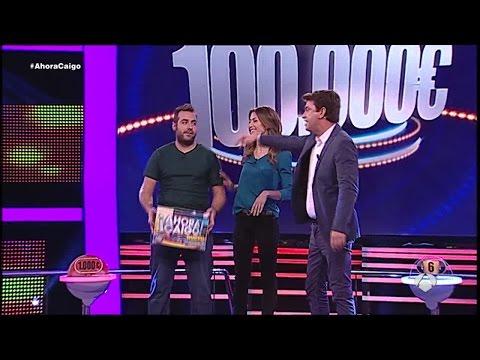 ¡Sergio gana los 100.000 euros en Ahora Caigo!