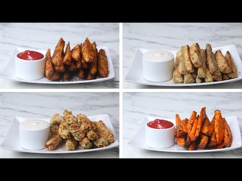 Download Youtube: Veggie Wedges 4 Ways
