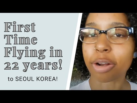 Travel Vlog Day 1: First Time Flying! Chicago, China, (First Class!?), and Seoul