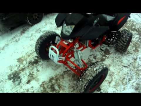 Irbis ATV250S обзор и мини тест-драйв