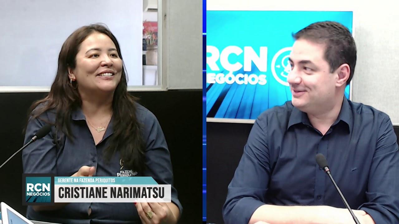 RCN Negócios 28/11 com Cristiane Narimatsu da Fazenda Periquitos