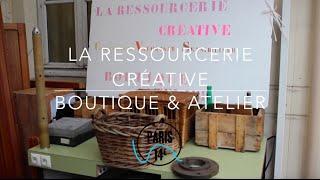 A LA RENCONTRE DES ENTREPRENEURS #10 - La ressourcerie Créative