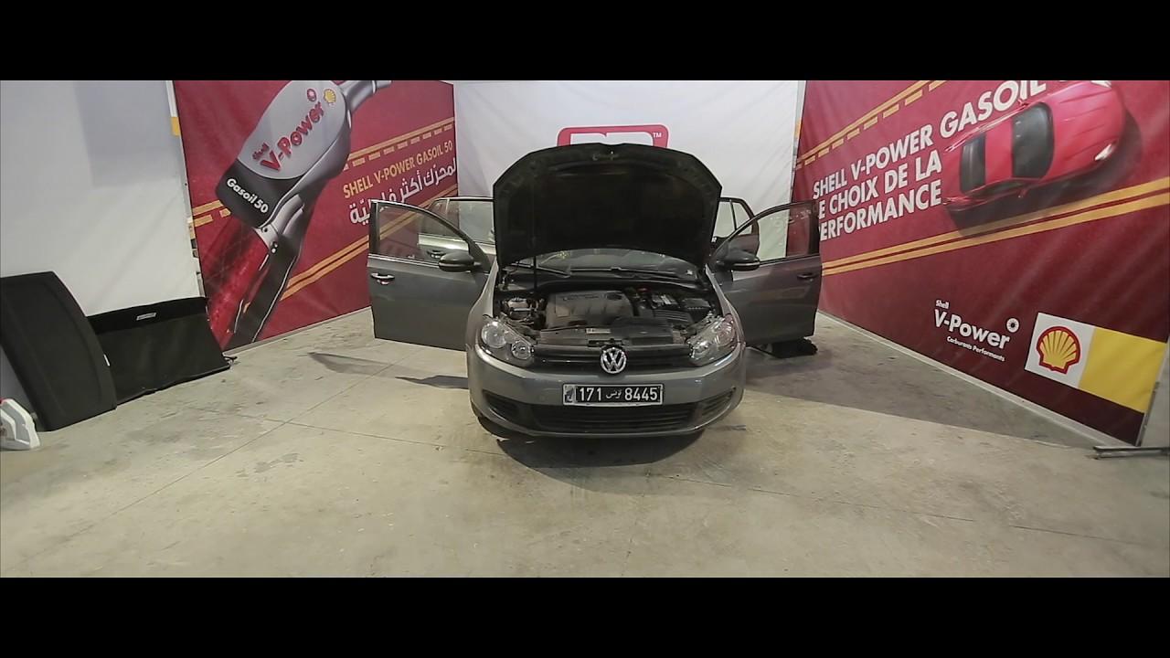 Karhabtek labess volkswagen golf 6 tuning platinum motors tunisia ep 07