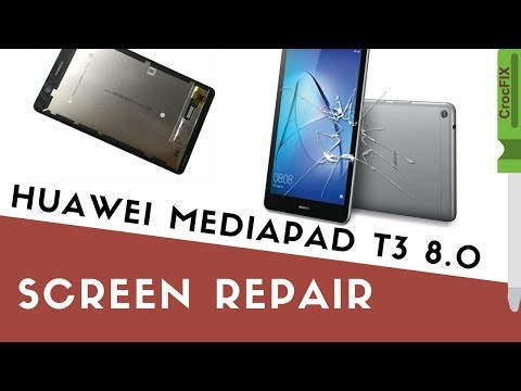 Huawei MediaPad T3 8.0 - Replace LCD screen with touch by CrocFIX