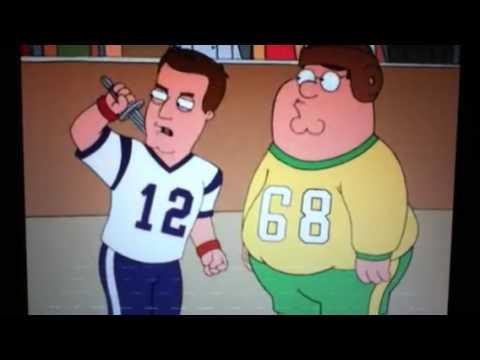 Kawasaki Ninja H2r >> Family Guy: Jay Leno knifes Tom Brady - YouTube