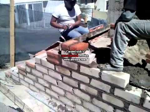 Como hacer una escalera de concreto por antonio boasso - Escaleras de ladrillo ...